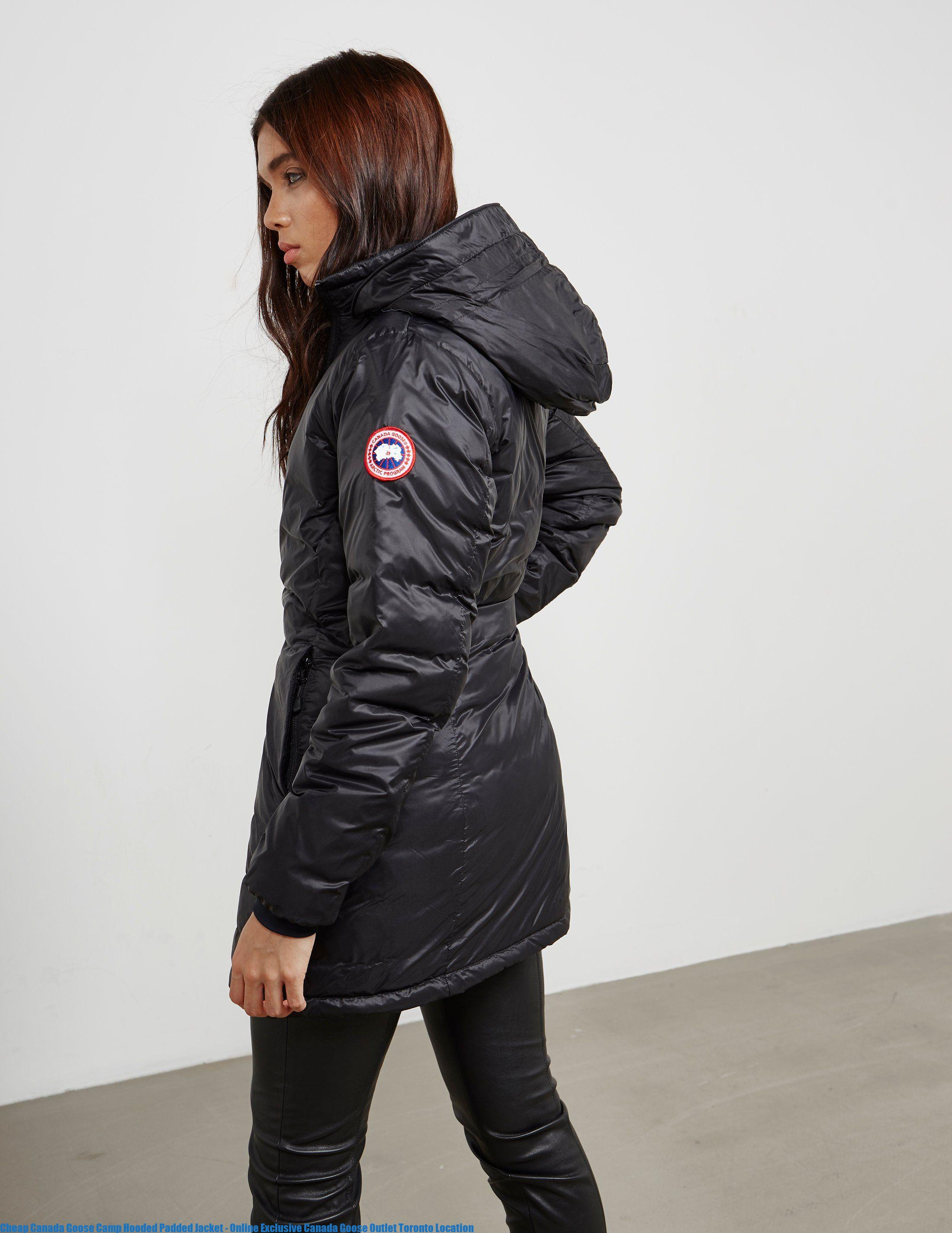 0c0e1ec9b6a Cheap Canada Goose Camp Hooded Padded Jacket – Online Exclusive Canada  Goose Outlet Toronto Location