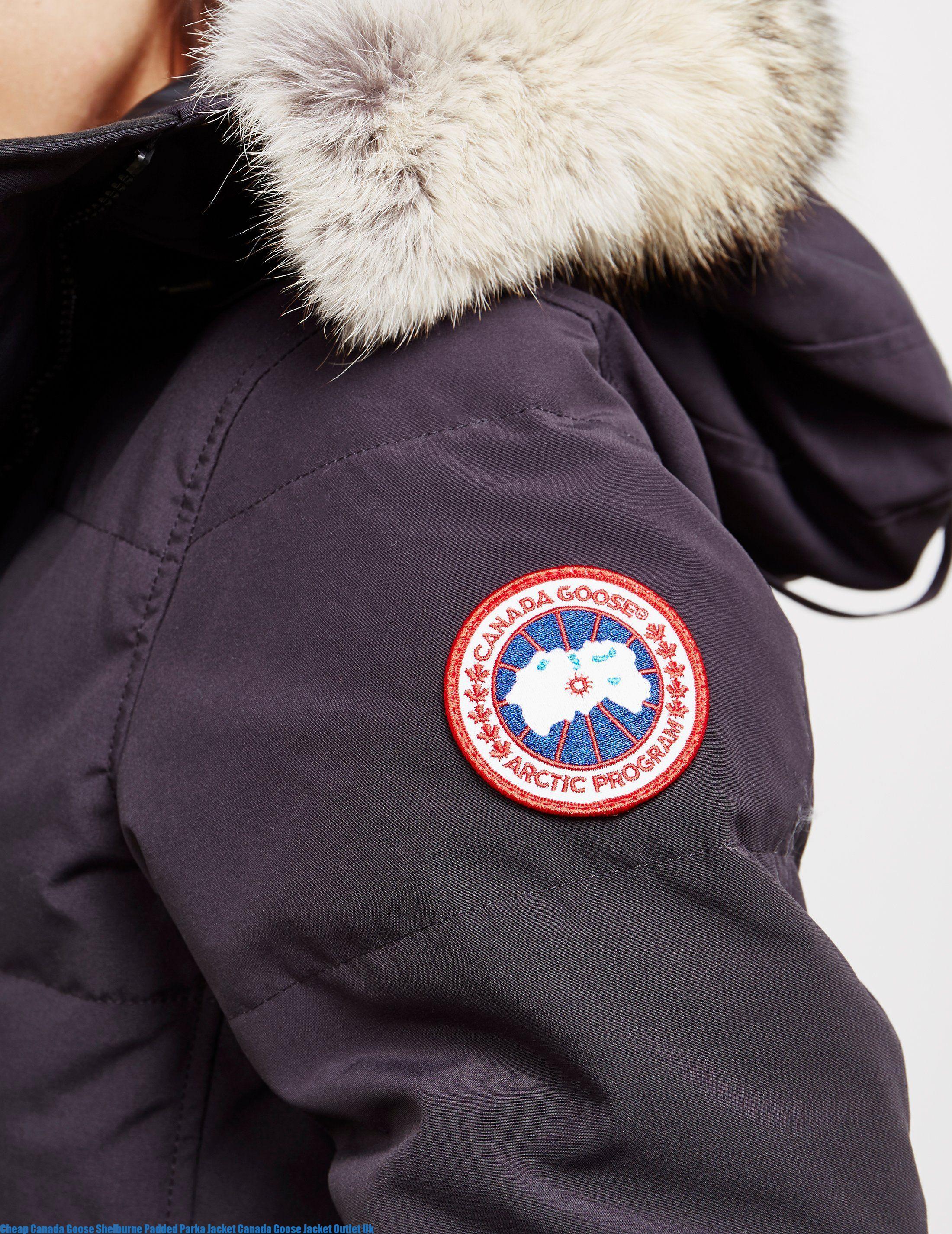 Cheap Canada Goose Shelburne Padded Parka Jacket Canada Goose Jacket Outlet Uk