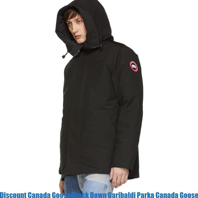 Discount Canada Goose Black Down Garibaldi Parka Canada Goose Junior Uk  2844688 fceaf4572a0c