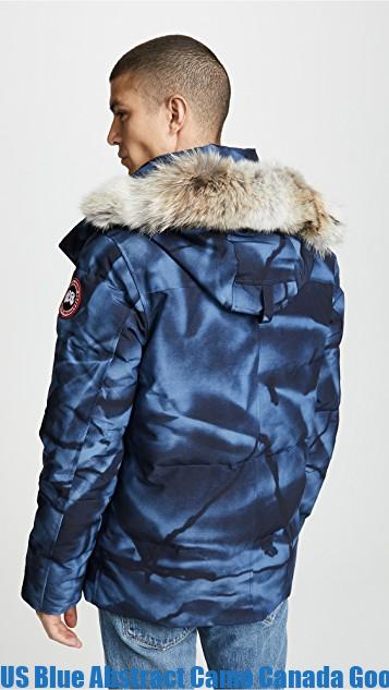 sports shoes 3d6e3 2af1f US Blue Abstract Camo Canada Goose Wyndham Parka Canada Goose Outlet Price  1598648733