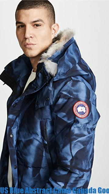 US Blue Abstract Camo Canada Goose Wyndham Parka Canada Goose Outlet Price 1598648733